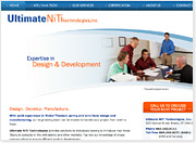 New Web Design Springs Into Action for Ultimate NiTi, CT Company