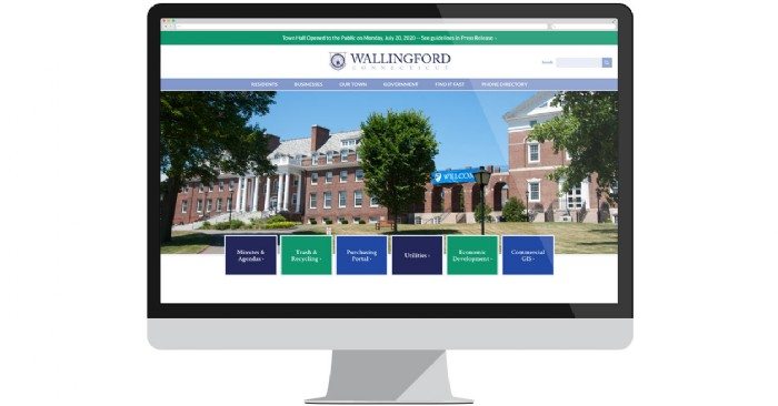 Town of Wallingford Website Gets a New Look, Enhanced Functionality