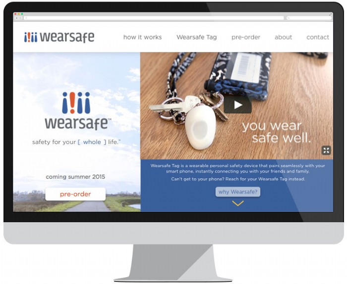 New Website Showcases the Wearsafe Tag, Latest in Wearable Devices