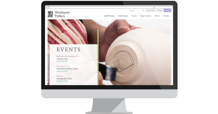 Wesleyan Potters Launches New Website with Online Registration