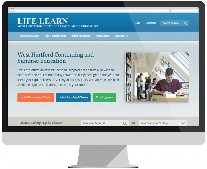New Website for West Hartford Continuing and Summer Education