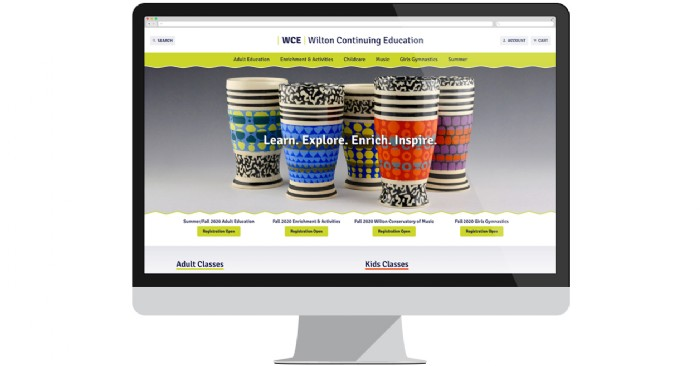 Wilton Continuing Education Launches New Website