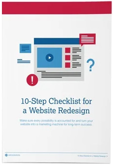 Book cover for: 10-Step Checklist for a Website Redesign